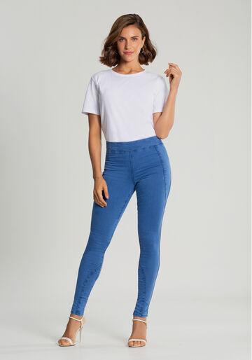 Calça Jeans  Jegging Fit For Me Momentos, JEANS, large.