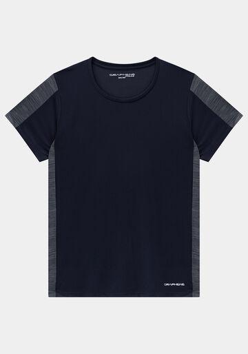 Camiseta Masculina Duo Color, PRETO REATIVO, large.