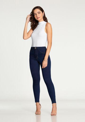 Calça Skinny Fit For Me, JEANS, large.