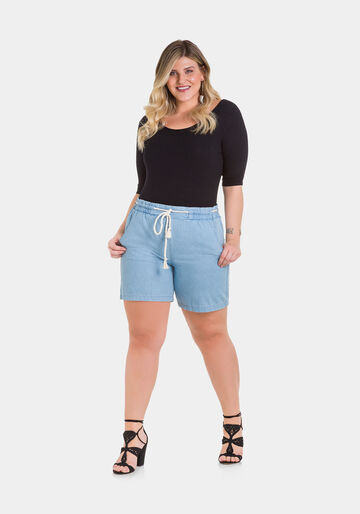 Shorts Jeans, JEANS CLARO, large.